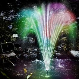 LED Solar Springbrunnen