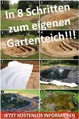 Gartenteich Selber Bauen