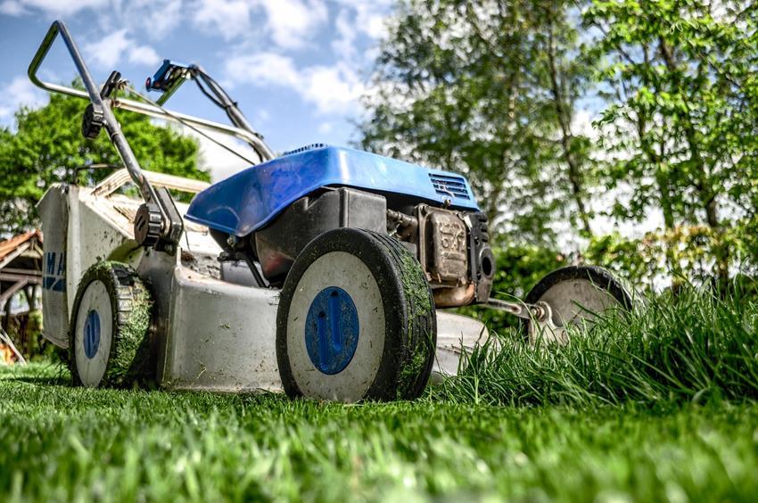 Reinigung des Gartens- keine leichte Aufgabe