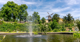 Welche Teichpumpe für den Springbrunnen